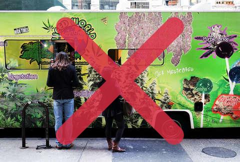 NY Weed Vans