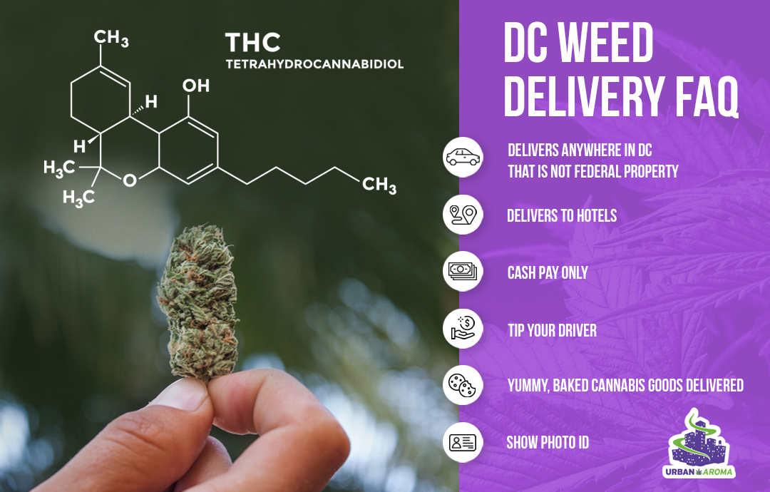 dc weed delivery FAQ