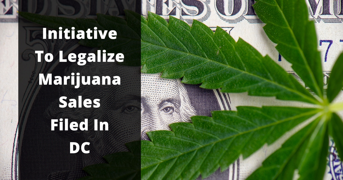 initiative to legalize marijuana sales filed in dc