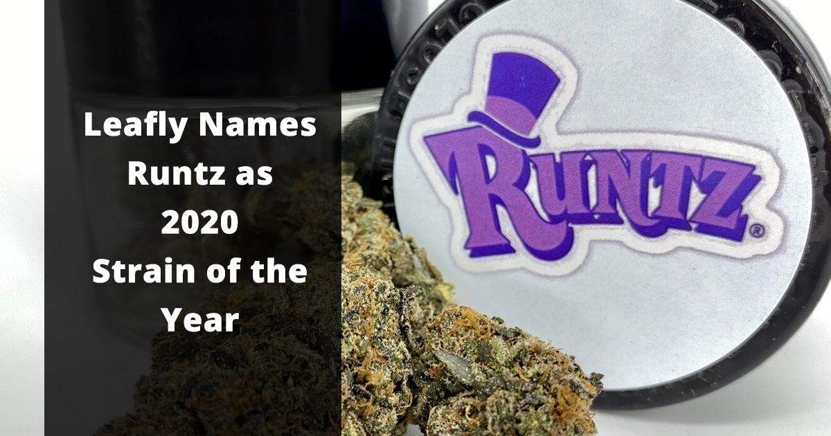 leafly names runtz as 2020 strain of the year