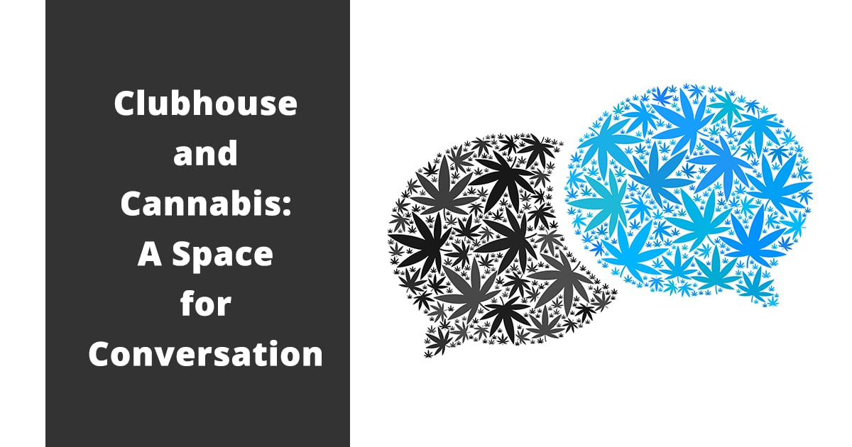 clubhouse and cannabis a space for conversation