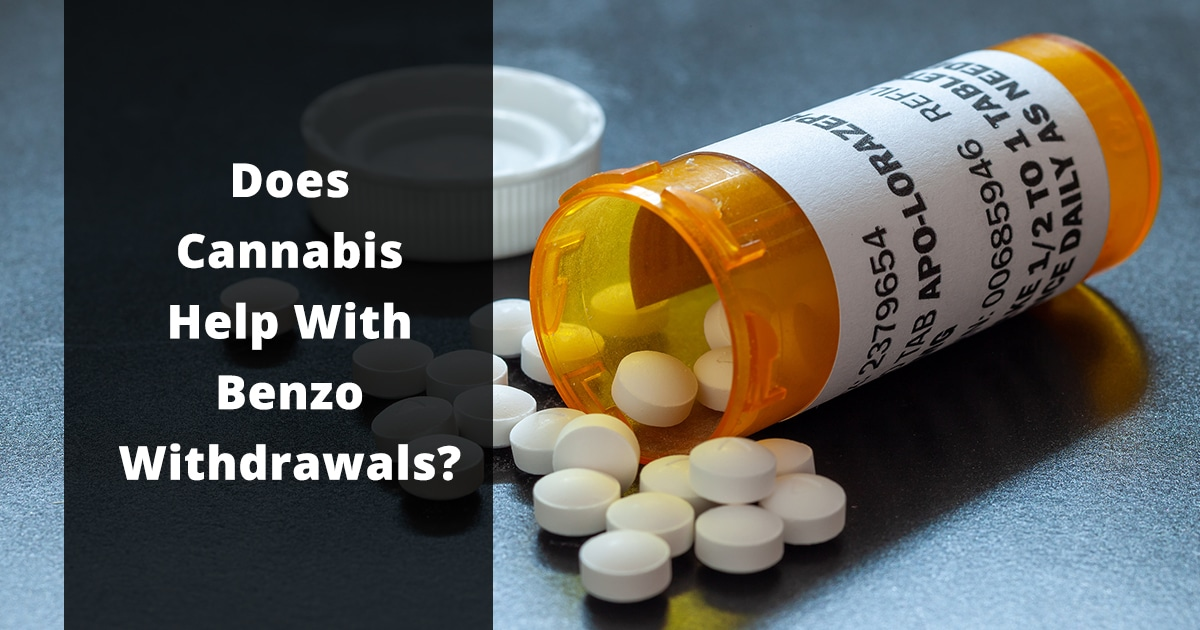 does cannabis help with benzo withdrawals